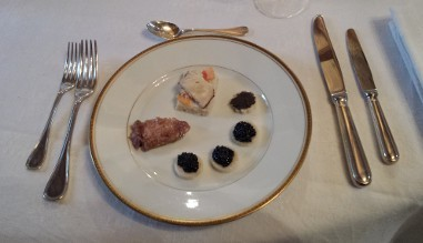 Goûtez le caviar de Ferrara chez nous